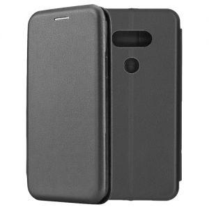 Чехол-книжка кожаный для LG G5 SE (черный) Book Case Fashion