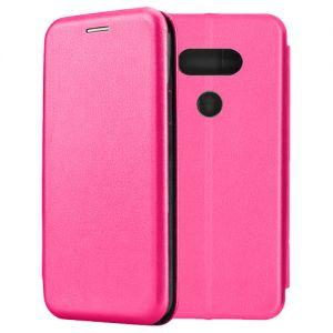 Чехол-книжка кожаный для LG G5 SE (розовый) Book Case Fashion