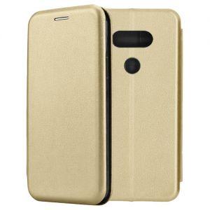 Чехол-книжка кожаный для LG G5 SE (золотистый) Book Case Fashion