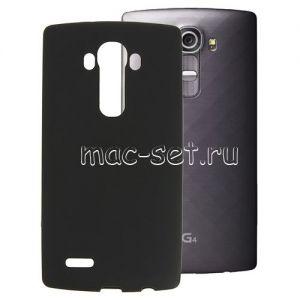 Чехол-накладка силиконовый для LG G4 H818 (черный 0.8мм)