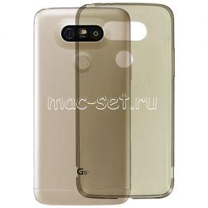 Чехол-накладка силиконовый для LG G5 SE (серый 0.5мм)
