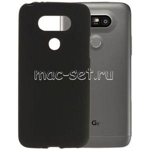 Чехол-накладка силиконовый для LG G5 SE (черный 0.8мм)
