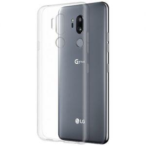 Чехол-накладка силиконовый для LG G7 ThinQ (прозрачный 1.0мм)