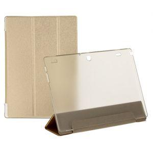 Чехол-книжка для Lenovo Tab 2 A10-30 (золотистый) TransCover