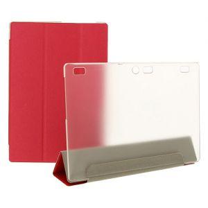 Чехол-книжка для Lenovo Tab 2 A10-70 (красный) TransCover