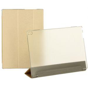 Чехол-книжка для Lenovo Tab 4 10 Plus TB-X704 (золотистый) TransCover