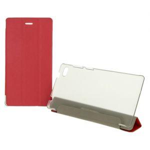 Чехол-книжка для Lenovo Tab 7 TB-7504 (красный) TransCover