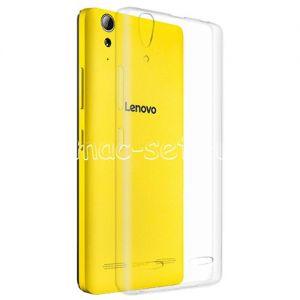 Чехол-накладка силиконовый для Lenovo A6000 / A6010 (прозрачный 0.5мм)