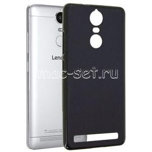 Чехол-накладка силиконовый для Lenovo K5 Note (черный 0.8мм) Soft-Touch