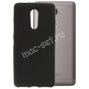Чехол-накладка силиконовый для Lenovo K6 Note (черный 0.8мм)