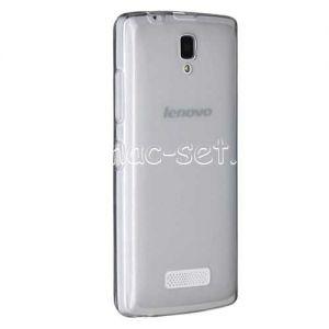 Чехол-накладка силиконовый для Lenovo A2010 (серый 0.5мм)
