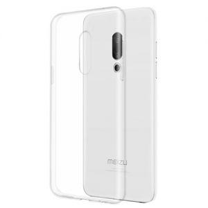 Чехол-накладка силиконовый для Meizu 15 (прозрачный 1.0мм)