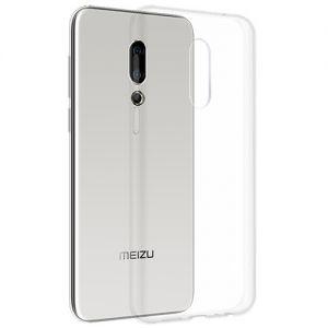 Чехол-накладка силиконовый для Meizu 16 Plus / 16th Plus (прозрачный 1.0мм)