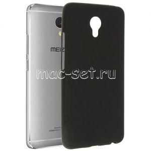 Чехол-накладка силиконовый для Meizu M5 Note (черный 0.8мм)