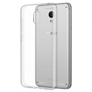 Чехол-накладка силиконовый для Meizu M6 [толщина 1.0 мм] (прозрачный)