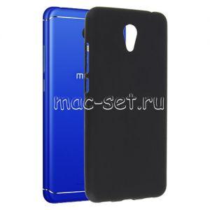 Чехол-накладка силиконовый для Meizu M6 (черный 0.8мм)