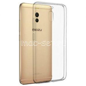 Чехол-накладка силиконовый для Meizu M6 Note ультратонкий (прозрачный)