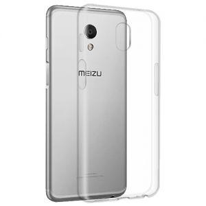 Чехол-накладка силиконовый для Meizu M6s [толщина 1.0 мм] (прозрачный)