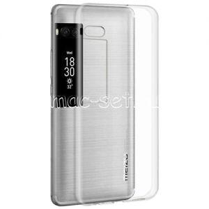 Чехол-накладка силиконовый для Meizu Pro 7 Plus [толщина 0.5мм] (прозрачный)