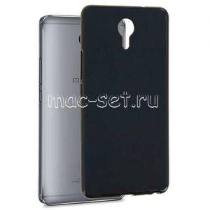 Чехол-накладка силиконовый для Meizu M3 Max (черный 0.8мм) Soft-Touch