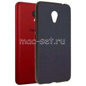 Чехол-накладка силиконовый для Meizu M5c (черный 0.8мм) Soft-Touch