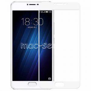 Защитное стекло для Meizu U20 [на весь экран] Aiwo (белое)