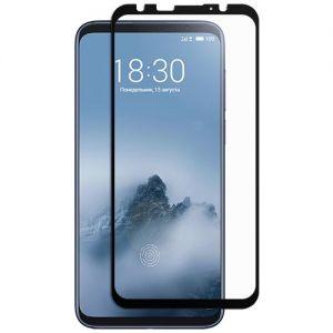 Защитное стекло для Meizu 16th [на весь экран] (черное)