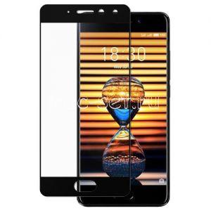Защитное стекло для Meizu Pro 7 [на весь экран] (черное)