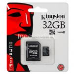 Карта памяти microSDHC 32GB Class 10 Kingston + SD adapter
