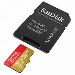 Карта памяти microSDHC SanDisk Extreme SDSQXAF-032G-GN6AA + SD Adapter (32Gb)