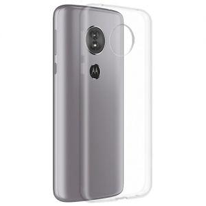 Чехол-накладка силиконовый для Motorola Moto E5 (прозрачный 1.0мм)