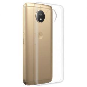 Чехол-накладка силиконовый для Motorola Moto G5s (прозрачный 1.0мм)