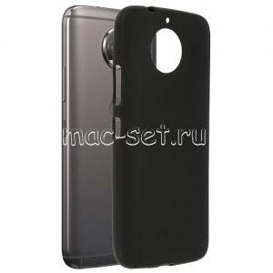 Чехол-накладка силиконовый для Motorola Moto G5s Plus (черный 0.8мм)