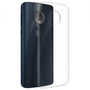 Чехол-накладка силиконовый для Motorola Moto G6 (прозрачный 1.0мм)