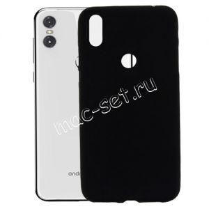 Чехол-накладка силиконовый для Motorola One / P30 Play (черный 0.8мм)