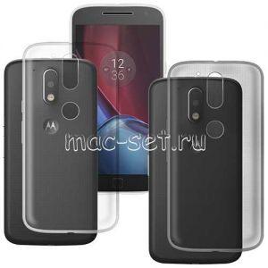 Чехол-накладка силиконовый для Motorola Moto G4 Plus ультратонкий