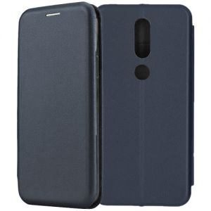 Чехол-книжка для Nokia 4.2 (синий) Fashion Case