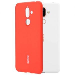 Чехол-накладка силиконовый для Nokia 7 Plus (красный) Cherry