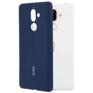 Чехол-накладка силиконовый для Nokia 7 Plus (синий) Cherry