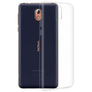 Чехол-накладка силиконовый для Nokia 3.1 (прозрачный 1.0мм)