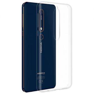 Чехол-накладка силиконовый для Nokia 6.1 (прозрачный) iBox Crystal