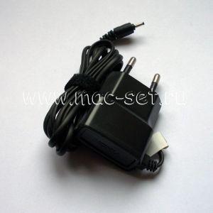 Сетевое зарядное устройство Nokia 2мм 800mA (черное)