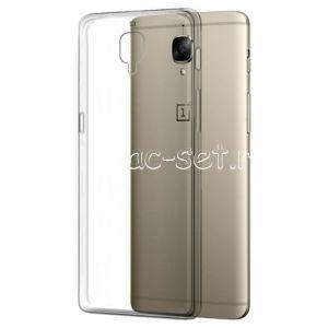 Чехол-накладка силиконовый для OnePlus 3 / 3T [толщина 0.5 мм] (прозрачный)
