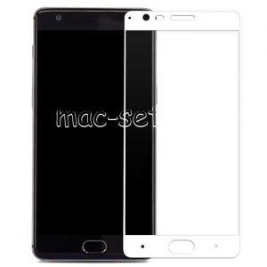 Защитное стекло для OnePlus 3 / 3T [на весь экран] Aiwo (белое)