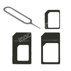 Переходник-адаптер для nano и micro SIM карт Red Line