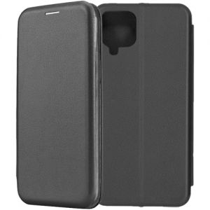 Чехол-книжка для Samsung Galaxy A22 A225 (черный) Fashion Case