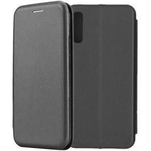 Чехол-книжка для Samsung Galaxy A50 A505 (черный) Fashion Case