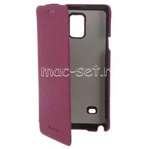 "Чехол-книжка для Samsung Galaxy Note 4 N910 ""Armor"" (фиолетовый)"