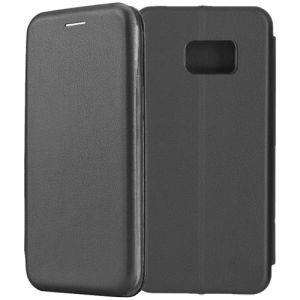 Чехол-книжка для Samsung Galaxy S7 G930 (черный) Fashion Case
