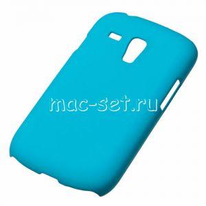 Чехол-накладка пластиковый для Samsung Galaxy S3 mini I8190 (голубой)